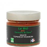 Sauce tomate et poivron Bio