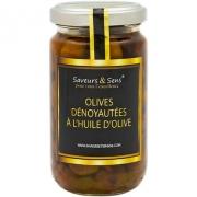 Olives Riviera    dénoyautées à l'huile d'olive