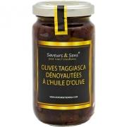 Olives Taggiasca dénoyautées à l'huile d'olive