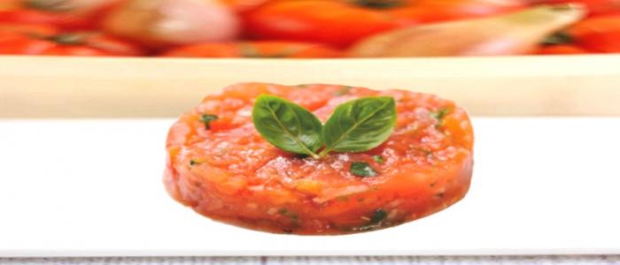 Idée recette : Tartare de tomates à l'ail doux